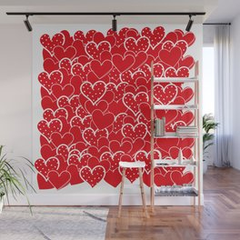 Valentine's background Wall Mural