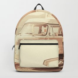 Vintage Van (Color) Backpack
