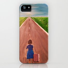 Going Home Now iPhone Case