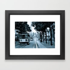 Powell Street Framed Art Print