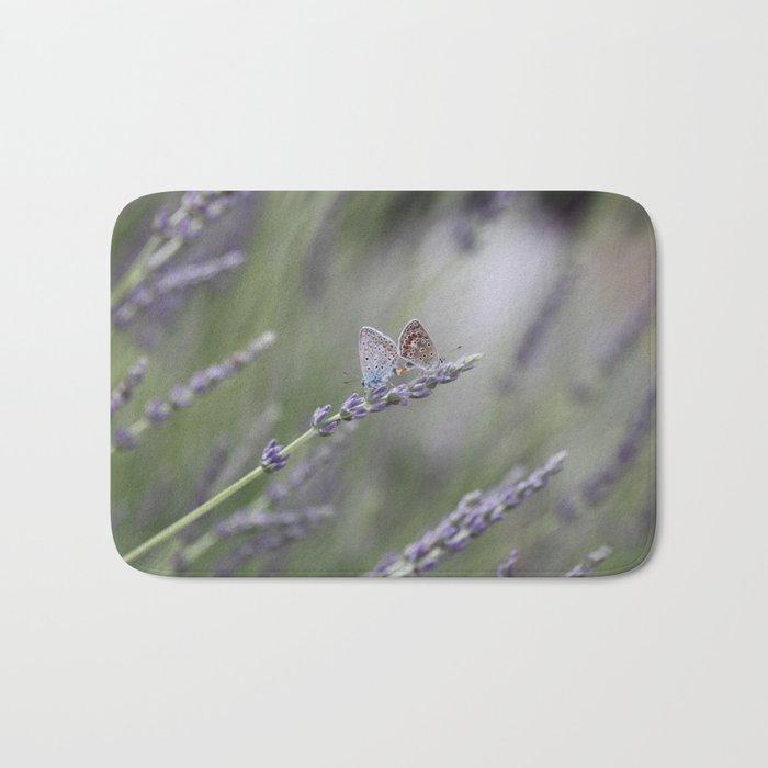 Lavender Butterflies - JUSTART © Bath Mat