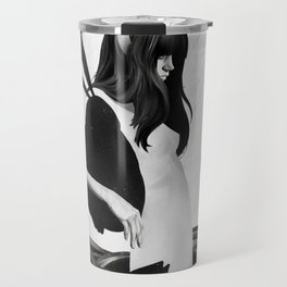A Mile Away From Anywhere Travel Mug