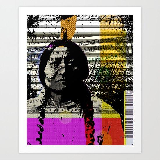 Indian Pop 0.1 Art Print