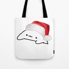 Bongo Cat Christmas Meme Tote Bag