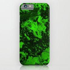 Galaxy in Green iPhone 6s Slim Case