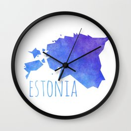 Estonia Wall Clock