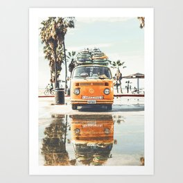 Surfing Day 3 Art Print