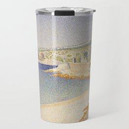 The Jetty at Cassis, Opus 198 Travel Mug