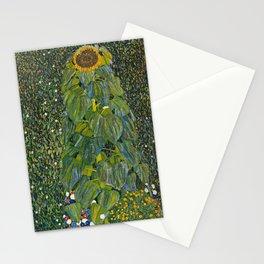 Gustav Klimt - The Sunflower Stationery Cards