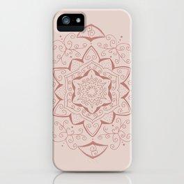 Jin Pink Mandala iPhone Case