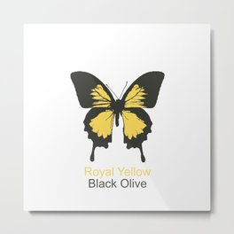 Ulysses Butterfly 6 Metal Print