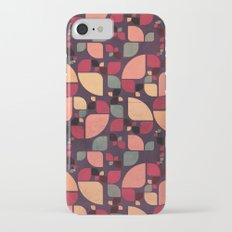 Vintage Butterflies Pattern iPhone 7 Slim Case