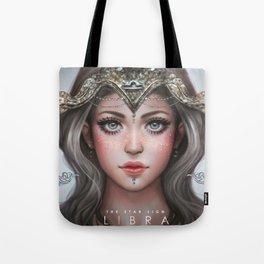 Libra - The Star Sign Tote Bag