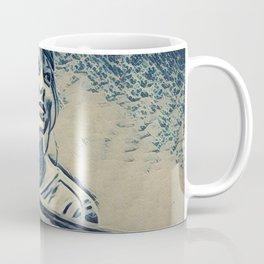 Swift Taylor Artistic Illustration Waves Style Coffee Mug