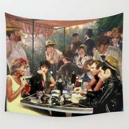 Renoir's Luncheon of the Boating Party & Grease Wall Tapestry