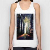 journey Tank Tops featuring journey by Nev3r
