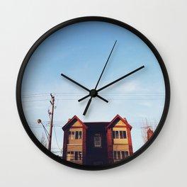 Merriman Apts - Ferndale, MI Wall Clock