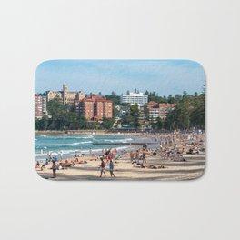 Manly Beach, Sydney Bath Mat