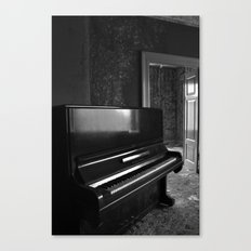 Grand Old Piano Canvas Print