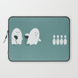 Bowling Ghost Laptop Sleeve