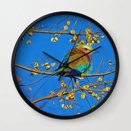 Songbird Singing in the Dead of Night Wall Clock