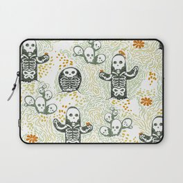 Skeleton Cacti Laptop Sleeve