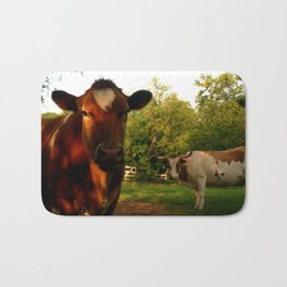Dad's Cows Bath Mat