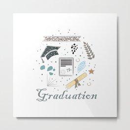 graduation Metal Print