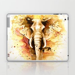 """Into the mirror"" n°4 The elephant Laptop & iPad Skin"