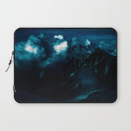 RUN before the DARKNESS gets YOU - Dark Sky/Clouds in the Mountains #2 Laptop Sleeve