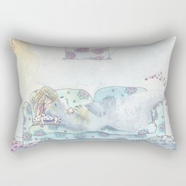 My bear friend Rectangular Pillow