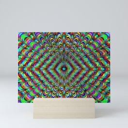Frilly Paintbox Fractal Mini Art Print