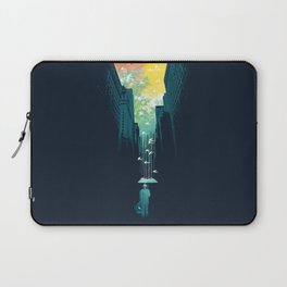 I Want My Blue Sky Laptop Sleeve