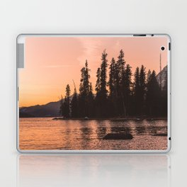 Forest Island at the Lake - Nature Photography Laptop & iPad Skin