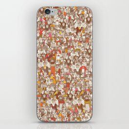 Victorian Crowd iPhone Skin