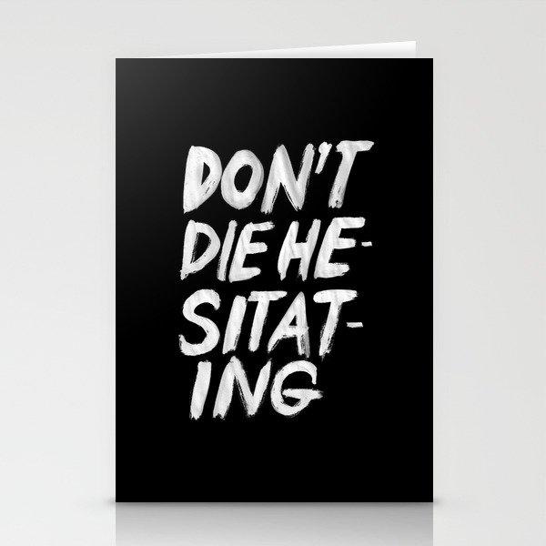 Hesitation Stationery Cards