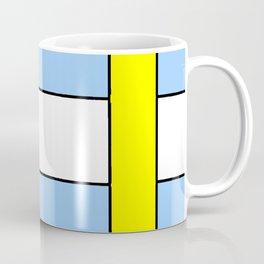 Couleurs imaginaires :Drapeau du Pays de Cocagne. Coffee Mug