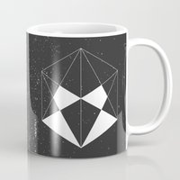 wwe Mugs featuring Hexagon by eARTh