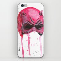 daredevil iPhone & iPod Skins featuring Daredevil by McCoy
