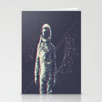 spaceman Stationery Cards featuring Spaceman by Aeodi Graphics