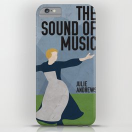 The Sound of Music Staring Julie Andrews iPhone Case