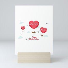 Happy Valentines Day Mini Art Print