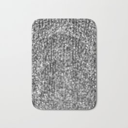 The Lights (Black and White) Bath Mat