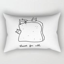 bread for all Rectangular Pillow