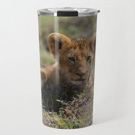 Adorable Lion Cub Travel Mug
