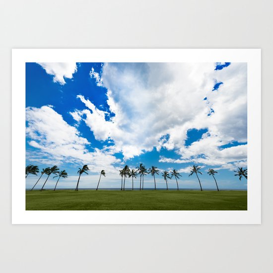 Somewhere in Paradise Art Print
