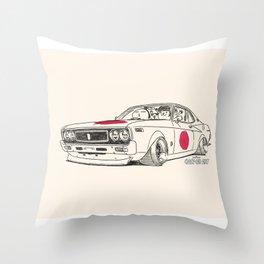 Crazy Car Art 0162 Throw Pillow