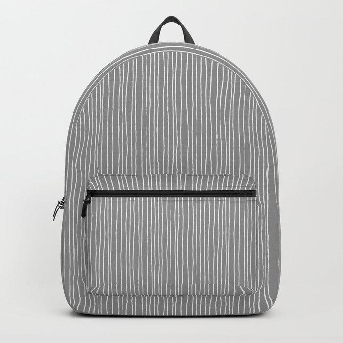 Platinum Lines Never Fail - Dark Gray Backpack