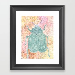 The Beetle Framed Art Print