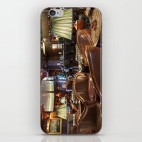 bar iPhone & iPod Skins featuring Lounge Bar by Deborah Janke
